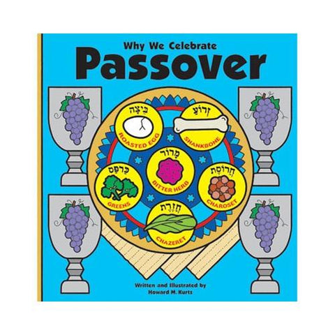 Why We Celebrate Passover Book - Ages 3-7 by Pigment & Hue - ModernTribe - 1