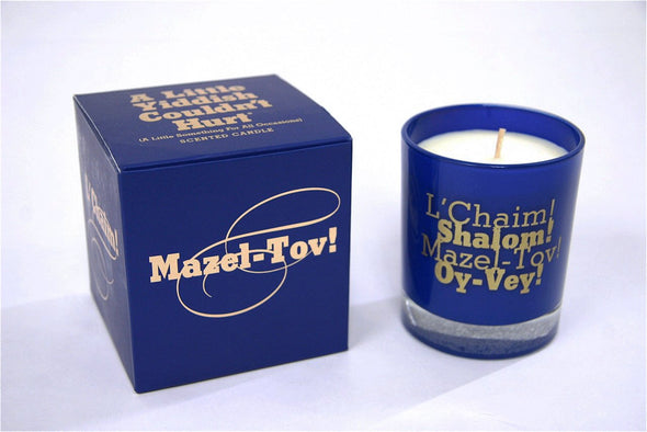 A Little Yiddish Scented Candle - ModernTribe