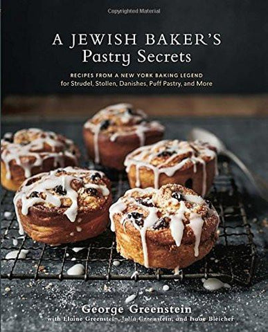 A Jewish Baker's Pastry Secrets by George Greenstein by Baker & Taylor - ModernTribe - 1
