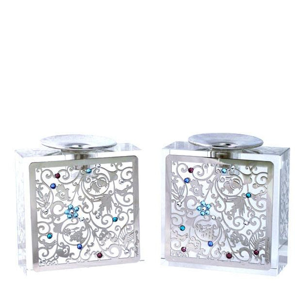 Anat Mayer Filigree Candle Holders (pair) - ModernTribe