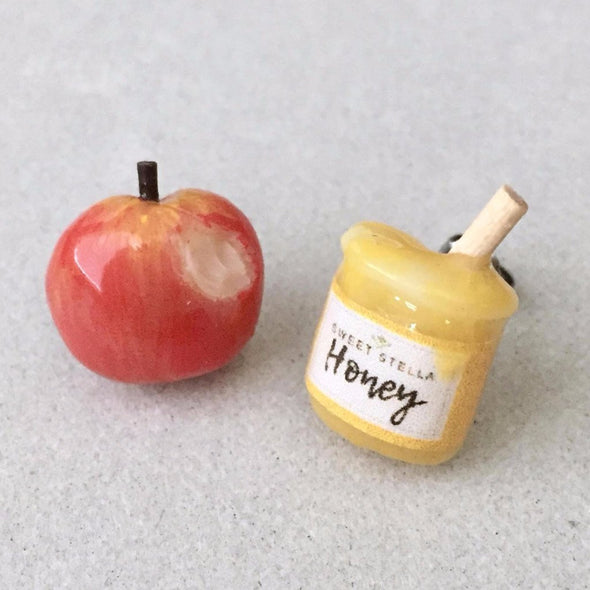 Apple and Honey Earrings