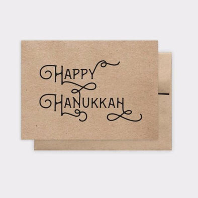Kraft Happy Hanukkah Greeting Card, Box of 6