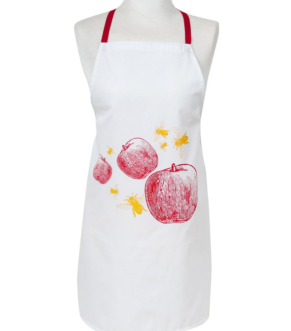 Apple & Bees Apron by Barbara Shaw - ModernTribe