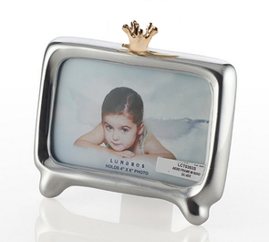 Engrave-able 4x6 Frame with 24k Crown by Lunares - ModernTribe - 1