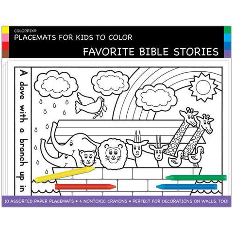 Jewish Bible Stories Placemats by Pigment & Hue - ModernTribe