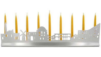 Jerusalem Skyline Menorah