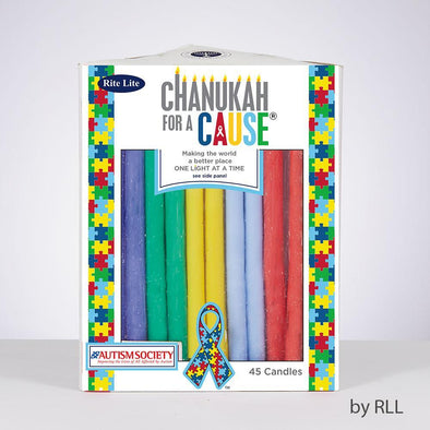 Copy of Hanukkah Candles For a Cause - Candles For Autism