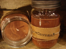 UnCommon Scents Candles Caveman Candle 8oz Tin