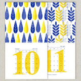 Jewish New Year's Calendar 5775 - Monthly Cards by Dvash - ModernTribe - 5