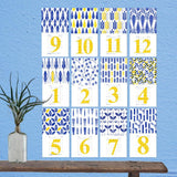 Jewish New Year's Calendar 5775 - Monthly Cards by Dvash - ModernTribe - 3