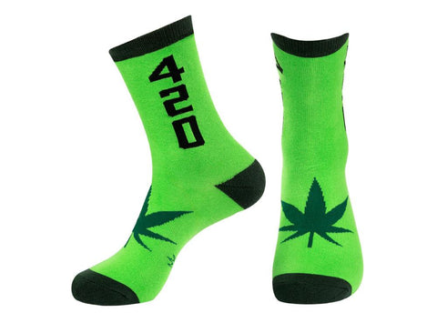420 Crew Socks by Gumball Poodle - ModernTribe