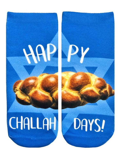 Happy Challah Days Ankle Socks