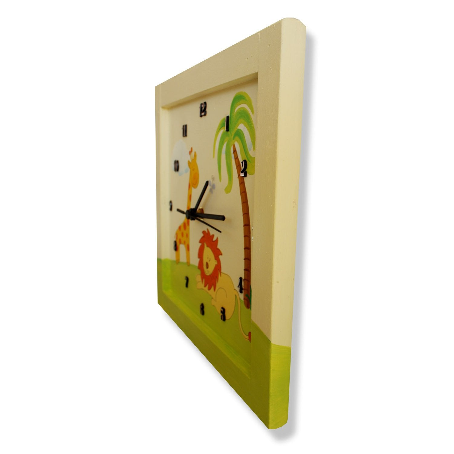 Personalized Childrens Wall Clocks In Hebrew Or English Moderntribe