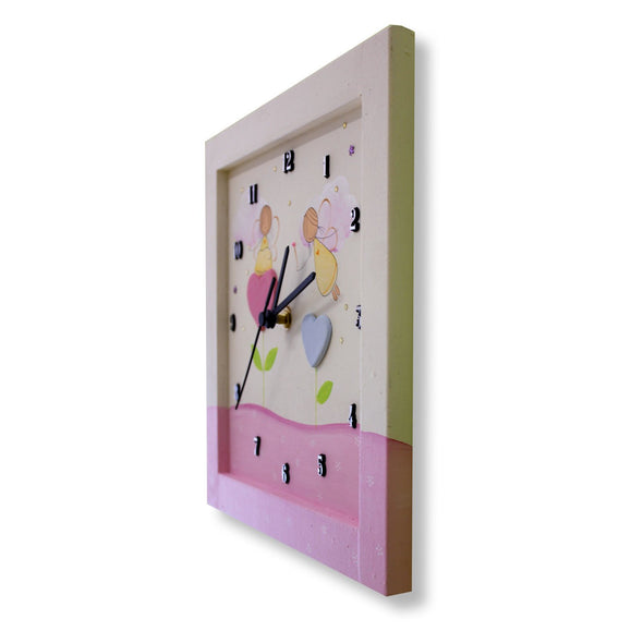 Personalized Children's Wall Clocks in Hebrew or English by Sharon Goldstein Happy Judaica - ModernTribe - 15