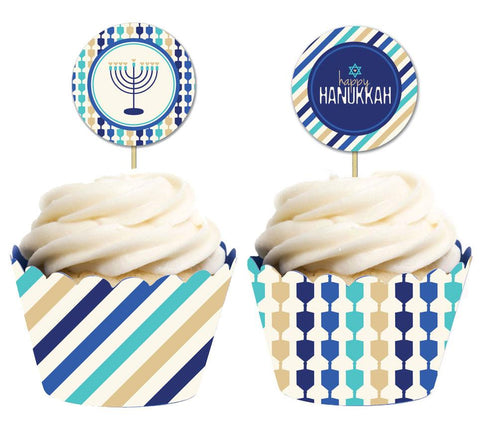 ModernTribe's Round Cupcake/Donut Toppers - Set of 10 by ModernTribe - ModernTribe - 1