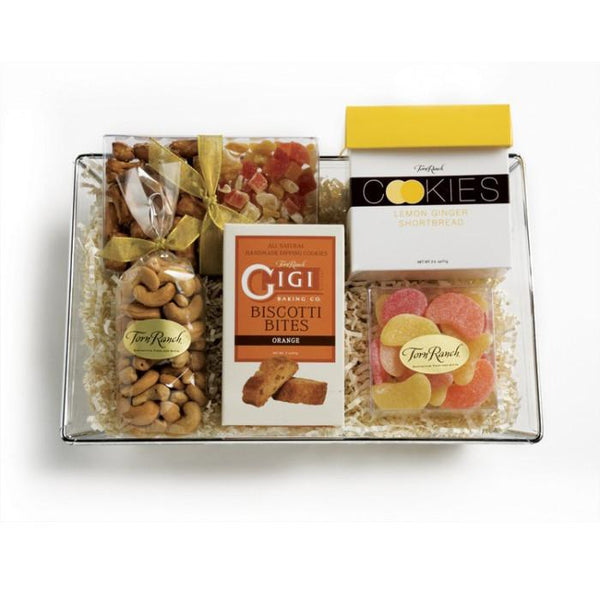Torn Ranch Food Default Here Comes The Sun Gift Box - Mishloach Manot
