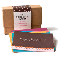 Delightful Dozen Note Cards - Set of 12 by Other - ModernTribe - 1