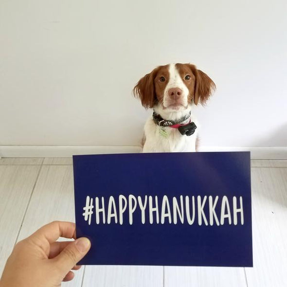 #HAPPYHANUKKAH Oversized Postcards - 6 Pack - ModernTribe