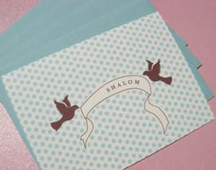 Vintage Dove Shalom Cards by Other - ModernTribe