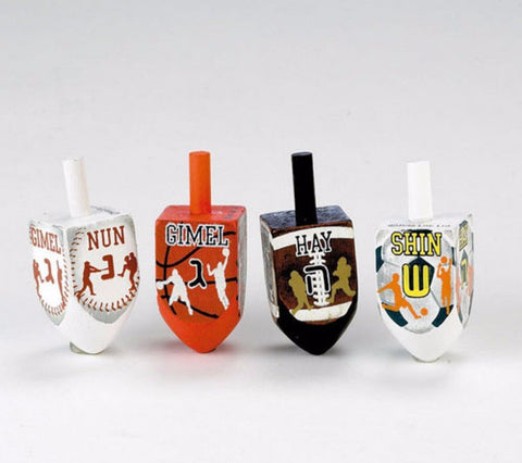 Sports Dreidels - Set of 4 by Rite Lite - ModernTribe - 1