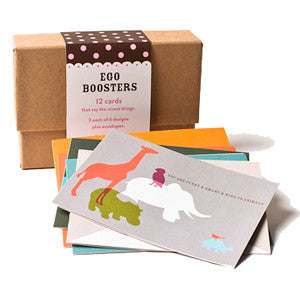 Ego Boosters Note Cards - Set of 12 by Other - ModernTribe - 1