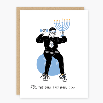 Party of One Cards Ruth Bader Ginsburg Hanukkah Cards - Box of 8