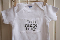 Free Range Baby Onesie by French Silver - ModernTribe