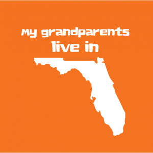 My Grandparents Live in Florida T-shirt - ModernTribe
