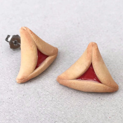 Hamantaschen Earrings