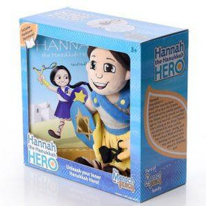Hannah the Hanukkah Hero – Includes Hardcover Book