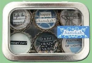 Recycled Bottle Cap Magnets: Hanukkah by Other - ModernTribe
