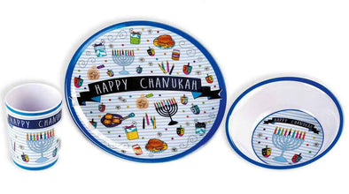 Hanukkah Kid's Dish Set by Rite Lite - ModernTribe - 1