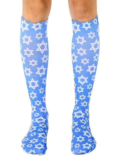 Star of David Knee High Socks