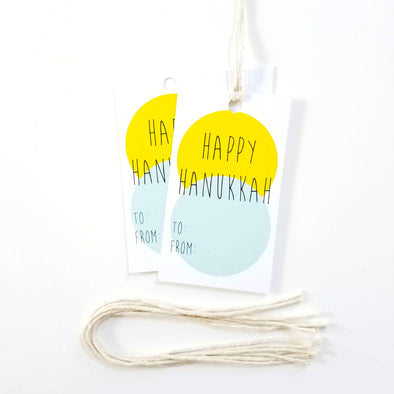 Hanukkah Gift Tags - 10 Pack