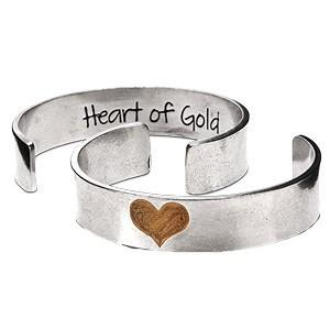Heart of Gold Cuff by Whitney Howard Designs by Whitney Howard Designs - ModernTribe