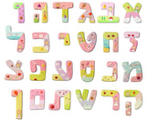 Personalized Hebrew Letters Wall Art by Sharon Goldstein Happy Judaica - ModernTribe - 2