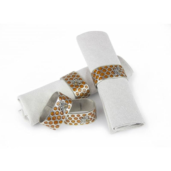 Quest Placemat Default Honeycomb Napkin Rings