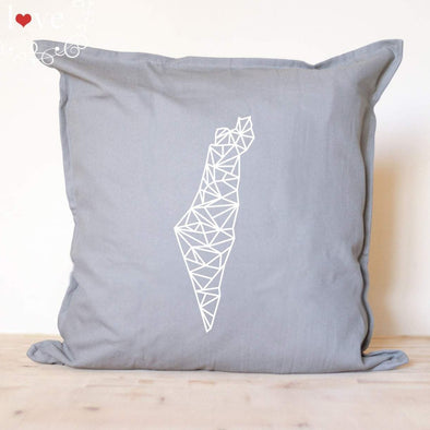 Isralove Pillow Geometric Israel Pillow Cover