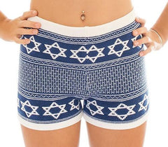 Star of David Royal Blue Shorts