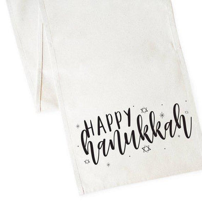 Happy Hanukkah Table Runner