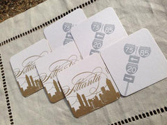 Atlanta Coasters by Concrete Lace by Concrete Lace - ModernTribe - 1