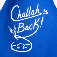 Challah Back Apron - Royal Blue
