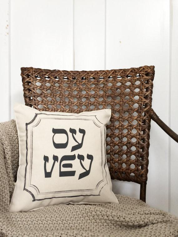 Oy Vey Pillow