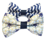 Hanukkah Bowtie for Your Pet by ChuckleHound - ModernTribe - 1