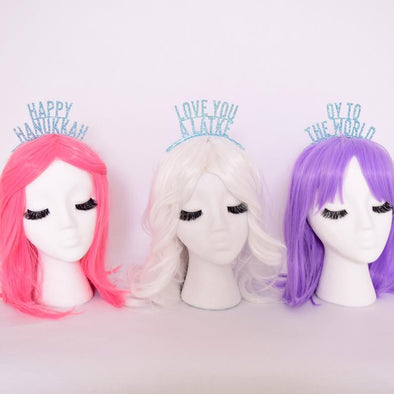 Hanukkah Glitter Crowns Set of 5 - ModernTribe