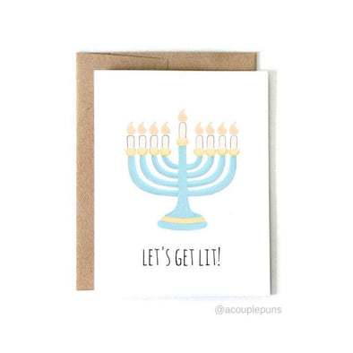 Let's Get Lit Greeting Card, Box of 6