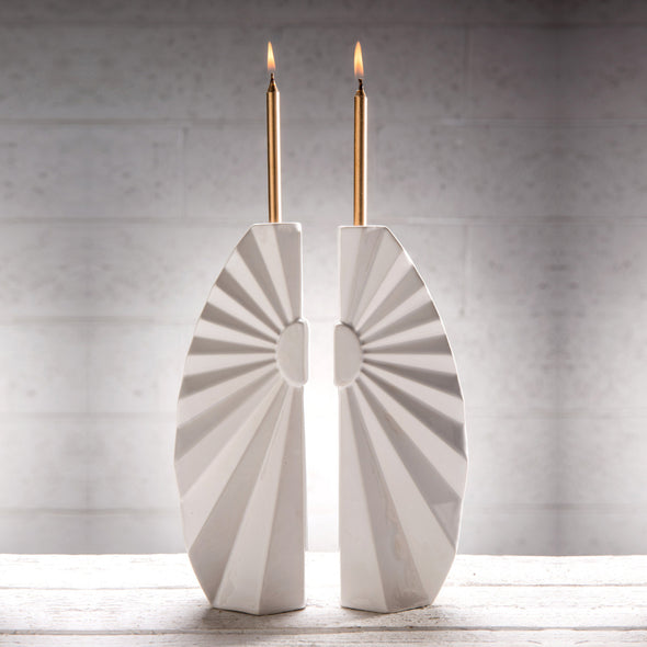 Sunburst Candlesticks - Pair - ModernTribe