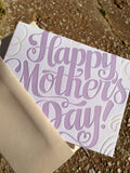 Happy Mother's Day Hand Lettered Card by Concrete Lace by Concrete Lace - ModernTribe - 4