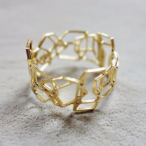 Dimensions Ring In Gold by Shlomit Ofir by Shlomit Ofir - ModernTribe - 1