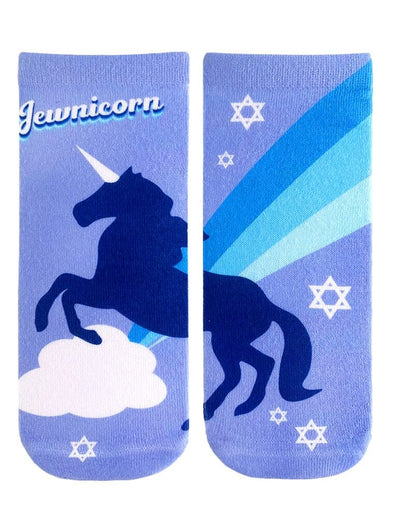 Jewnicorn Ankle Socks